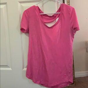 PINK, pink shirt